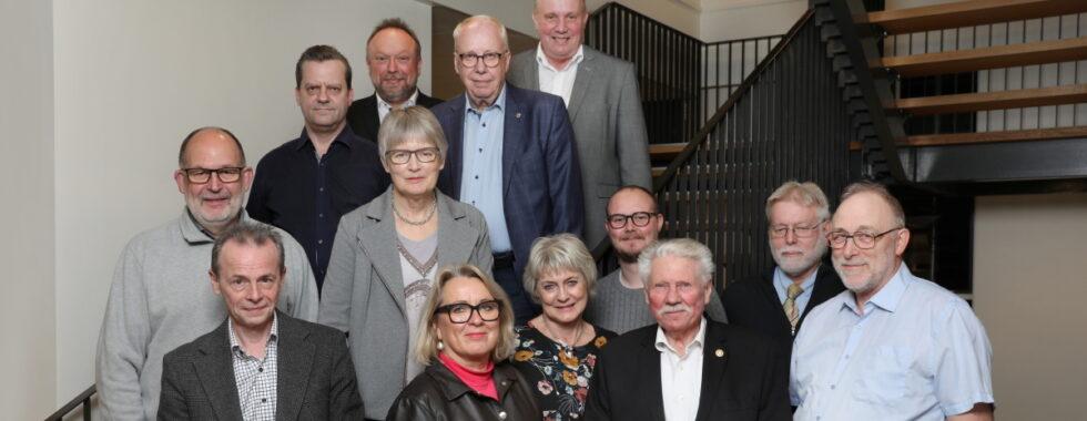 Nogle af vælgerforeningens medlemmer