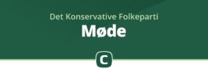Møde i Det Konservative Folkeparti i Slagelse Kommune